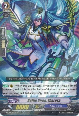 BT09/026EN (R) Battle Siren, Theresa