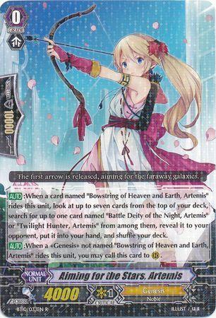 BT10/033EN (R) Aiming for the Stars, Artemis