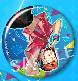 "Trading Badge Collection ""Persona 3: Dancing Moon Night (Yukari Takeba)"" by Kotobukiya"