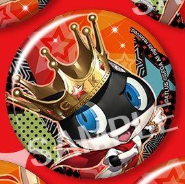 """Trading Badge Collection """"Persona 5: Dancing Star Night (Morgana)"""" by Kotobukiya"""