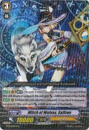 BT10/027EN (R) Witch of Wolves, Saffron