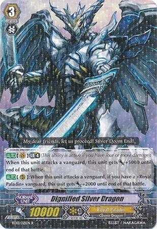 BT10/021EN (R) Dignified Silver Dragon