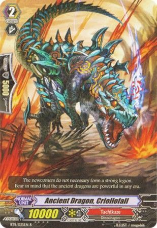 BT11/035EN (R) Ancient Dragon, Criollofall