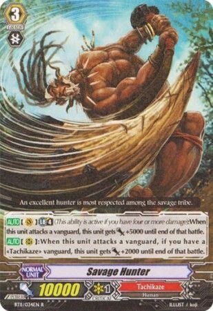 BT11/034EN (R) Savage Hunter