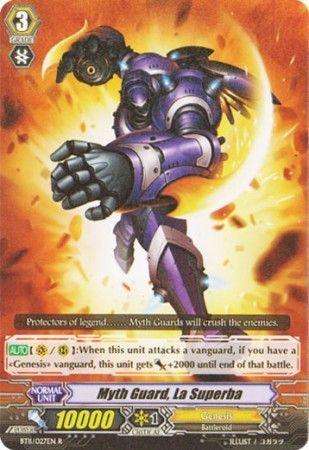 BT11/027EN (R) Myth Guard, La Superba