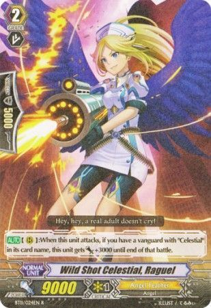 BT11/024EN (R) Wild Shot Celestial, Raguel