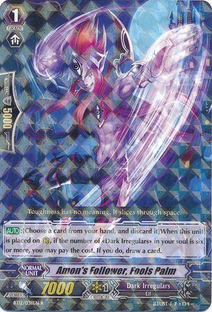 BT12/038EN (R) Amon's Follower, Fools Palm
