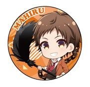 """Can Badge Collection """"Servamp Movie: Alice in the Garden (Mahiru)"""" by Impact Jam"""