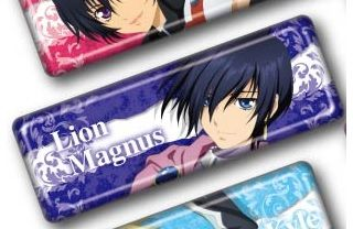 """Long Can Badge Collection """"Tales of Series: Tales of Destiny (Lion Magnus)"""" by Ensky"""