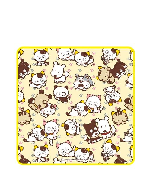 "Mini Towel B ""Tama & Friends"" by JIN+"