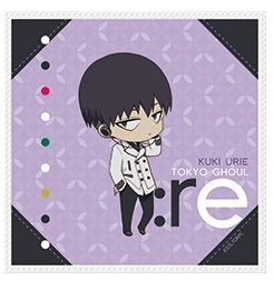 "Mini Towel Collection ""Tokyo Ghoul:re (Kuki Urie)"" by azumaker"