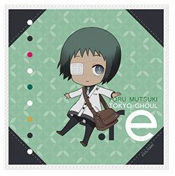 "Mini Towel Collection ""Tokyo Ghoul:re (Tooru Mutsuki)"" by azumaker"