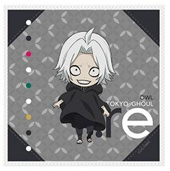 "Mini Towel Collection ""Tokyo Ghoul:re (Owl)"" by azumaker"