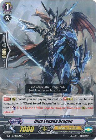 G-BT12/066EN (C) Blue Espada Dragon