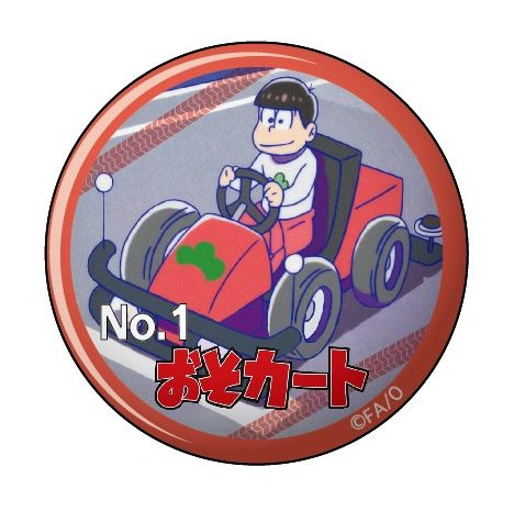 "Can Clip Badge Vol.3 ""Osomatsu-san (Osokart)"" by Twinkle"
