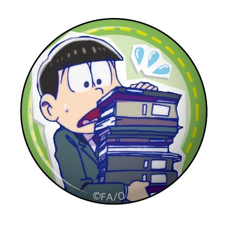 """Can Clip Badge Vol.3 """"Osomatsu-san (Employment)"""" by Twinkle"""