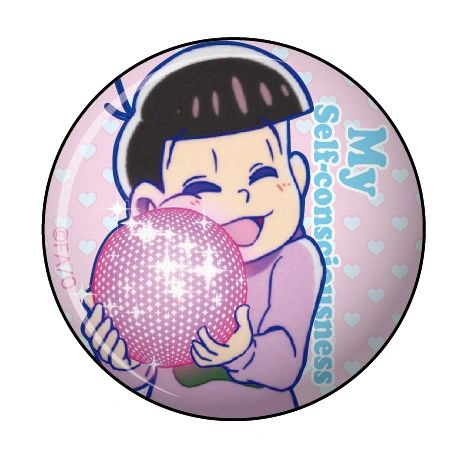 """Can Clip Badge Vol.3 """"Osomatsu-san (My Self-Consciousness)"""" by Twinkle"""