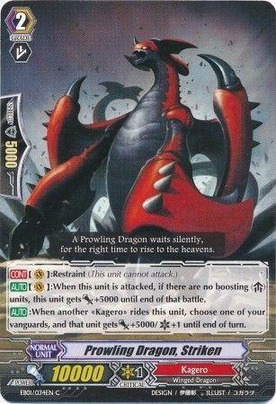 EB01/034EN (C) Prowling Dragon, Striken