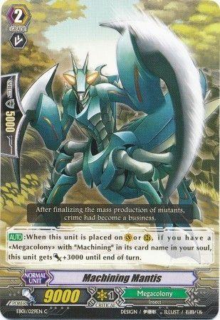 EB01/029EN (C) Machining Mantis