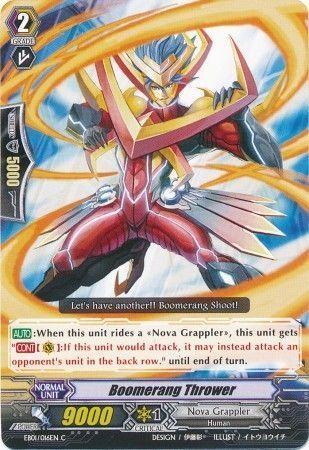EB01/016EN (C) Boomerang Thrower