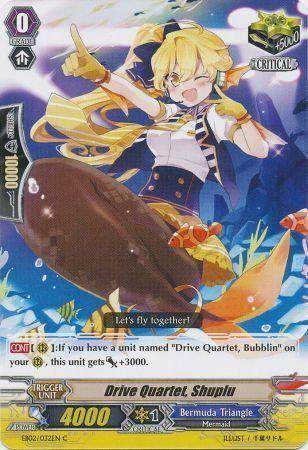 EB02/032EN (C) Drive Quartet, Shuplu