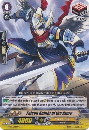 EB03/036EN (C) Falcon Knight of the Azure