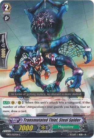 EB03/027EN (C) Transmutated Thief, Steal Spider