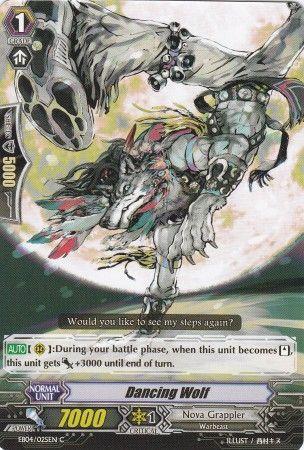 EB04/025EN (C) Dancing Wolf
