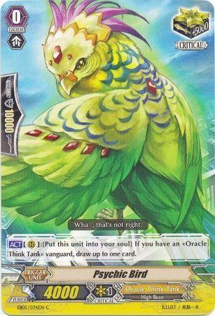EB05/034EN (C) Psychic Bird