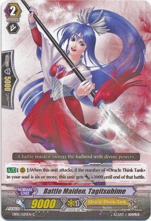EB05/020EN (C) Battle Maiden, Tagitsuhime