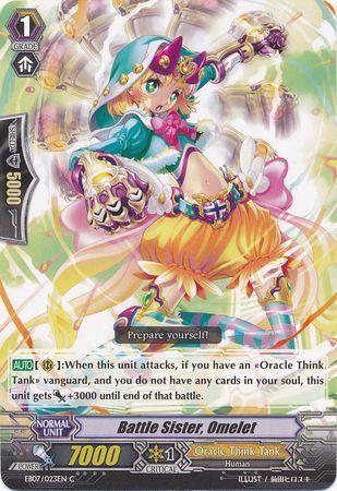 EB07/023EN (C) Battle Sister, Omelet