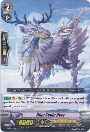 EB07/019EN (C) Blue Scale Deer