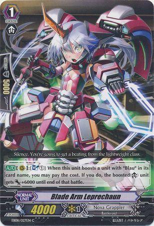 EB08/027EN (C) Blade Arm Leprechaun