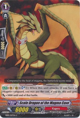 EB09/027EN (C) Scale Dragon of the Magma Cave