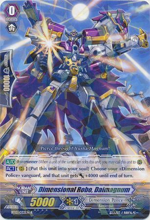BT13/032EN (R) Dimensional Robo, Daimagnum