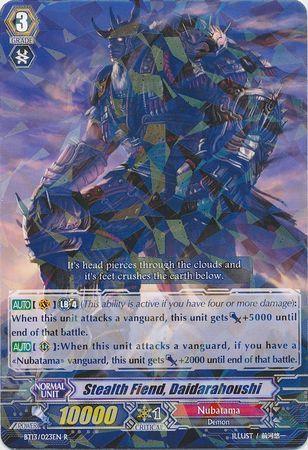 BT13/023EN (R) Stealth Fiend, Daidarahoushi