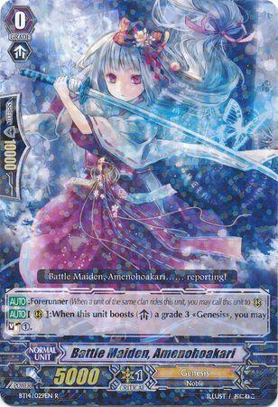 BT14/029EN (R) Battle Maiden, Amenohoakari