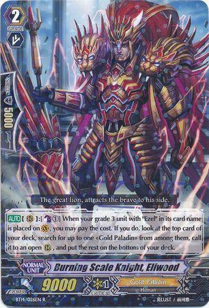 BT14/026EN (R) Burning Scale Knight, Eliwood