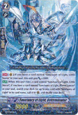 BT14/021EN (R) Sanctuary of Light, Determinator