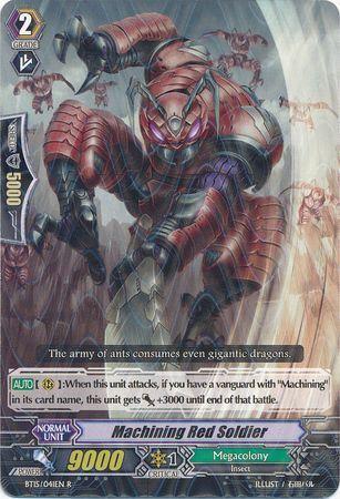 BT15/041EN (R) Machining Red Soldier