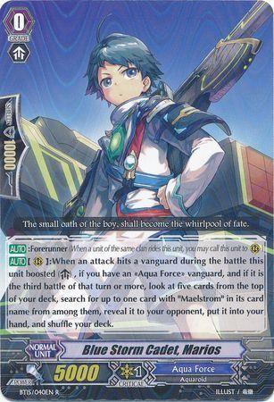 BT15/040EN (R) Blue Storm Cadet, Marios