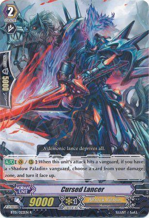 BT15/022EN (R) Cursed Lancer