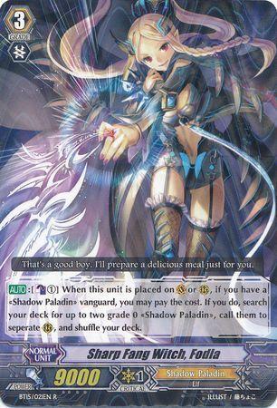 BT15/021EN (R) Sharp Fang Witch, Fodla