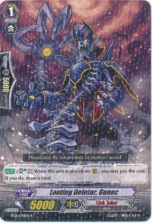 BT16/049EN (R) Looting Deletor, Gunec