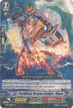 BT17/028EN (R) Perdition Dragon Knight, Ilham