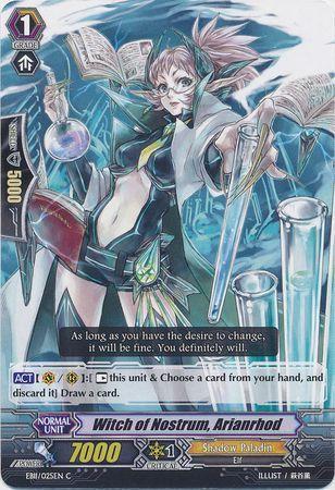 EB11/025EN (C) Witch of Nostrum, Arianrhod