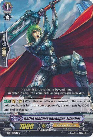 EB11/024EN (C) Battle Instinct Revenger, Lifecher
