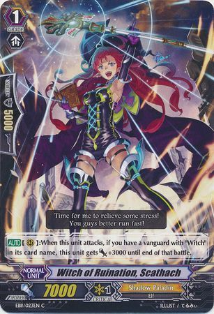 EB11/023EN (C) Witch of Ruination, Scathach