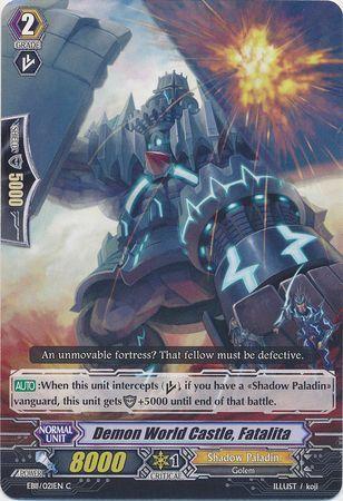 EB11/021EN (C) Demon World Castle, Fatalita