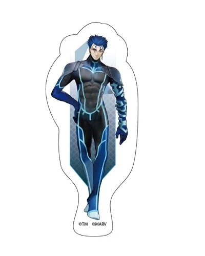 """Trading Acrylic Magnet A """"Fate/EXTELLA LINK (Cu Chulainn)"""" by Y Line"""